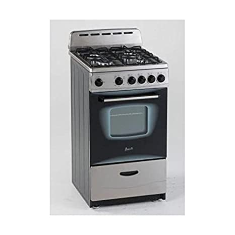 Amazon.com: Avanti GR2013CSS Gas Range, 20\