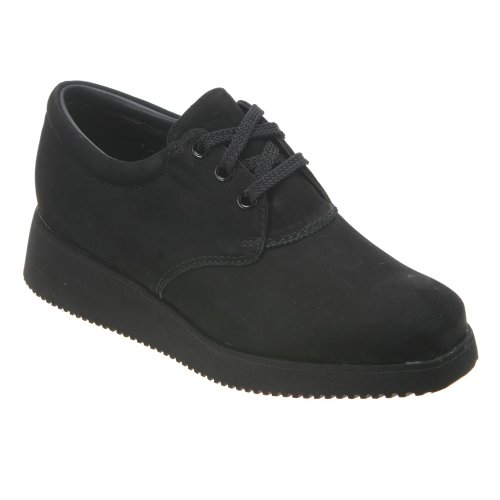 Trok Schoen Dames Bounce Ultra Ii Oxfords Zwart Nubuck
