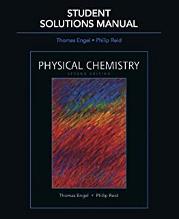 Physical chemistry thomas engel philip reid 9780805338423 amazon student solutions manual for physical chemistry fandeluxe Image collections