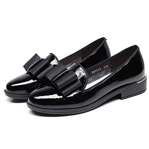 Individuales Boca Negro Versión La De Plana Mujer Salvaje Zapatillas Parte Zapatos Suaves Inferior Baja Suave Inferiores Coreana Verano Primavera Y pH7BAqd
