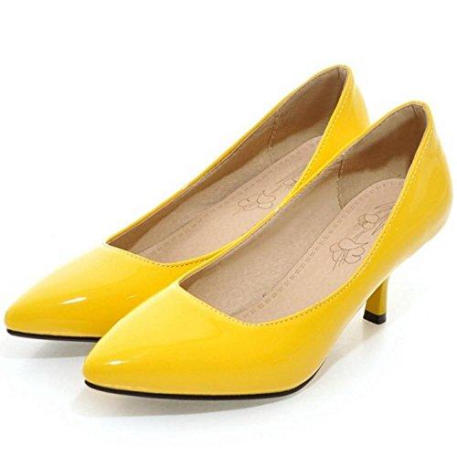 JOJONUNU JOJONUNU Femmes Femmes Yellow Escarpins Yellow Pointu Escarpins Pointu JOJONUNU wqap1xBCC