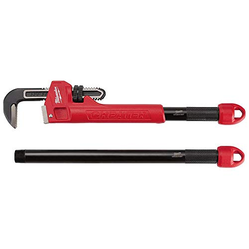 (Milwaukee 48-22-7314 CHEATER Adaptable Pipe Wrench )