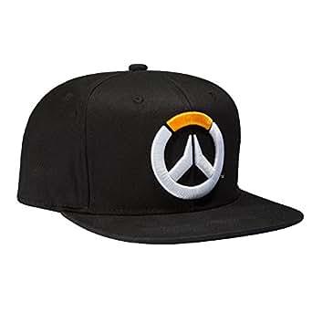 Overwatch Frenetic Snapback Baseball Hat (Black, One Size)