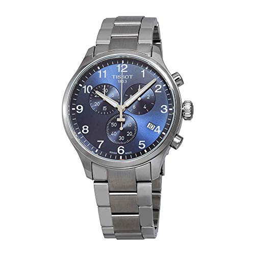 (Tissot Men's Chrono XL Classic - T1166171104701 Blue/Grey One Size)