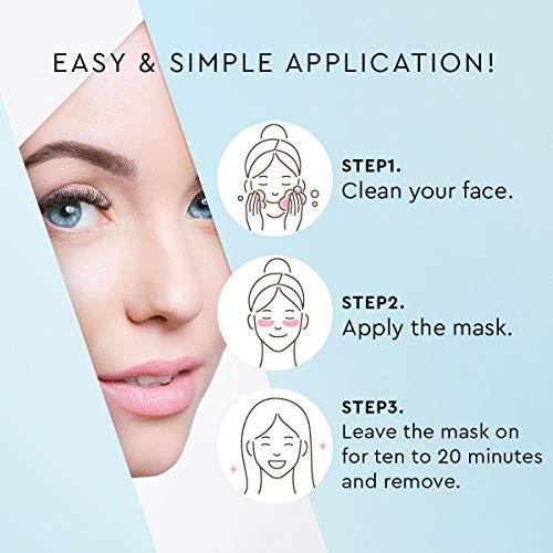 41I530XHQSL - AZALLY Hydrogel Collagen Eye Mask - Collagen Anti-Aging Under Eye Patches, Under Eye Patches, Under Eye Bags Treatment, Eye Mask for Puffy Eyes (60pcs)
