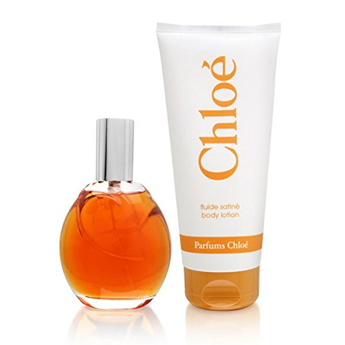 Chloe By Chloe For Women. Set-edt Spray 3 Ounces & Body Lotion 6.8 Ounces