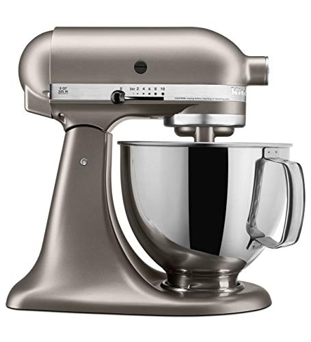 KitchenAid Architect Series 10-Speed 5 Quart Tilt-Head Stand Mixer, Cocoa Silver (Non-Retail Packaging) ()