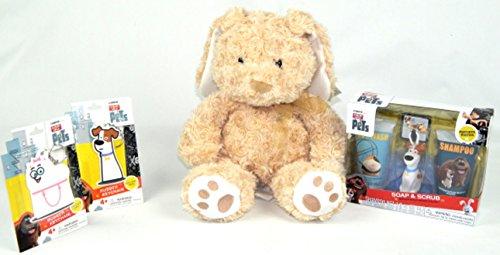 Diy Infant Hulk Costume (Easter Basket Stuffer Secret Life of Pets Plush Bunny Toy Gift Set Bundle)