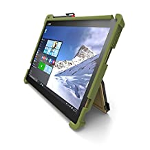 Gumdrop Cases Droptech for Lenovo Ideapad Miix 700 Rugged 2-in-1 Tablet Case Shock Absorbing Cover Army Green/Black 80QL0004US, 80QL000AUS