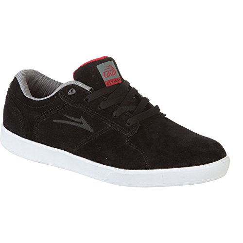 LAKAI Skateboard Shoes Biebel BB4 Black Suede