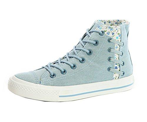 Dayiss Chiaro Donna Pantofole Blu Stivaletto A TTOwfqzB