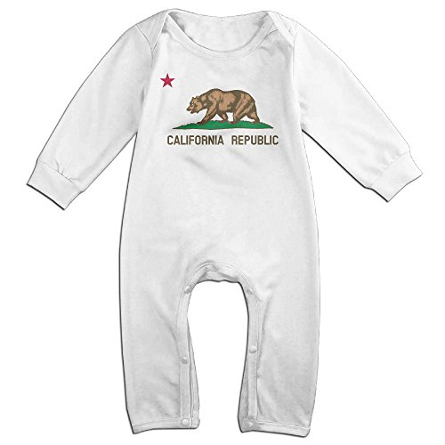 California Republic Baby Cotton Bodysuit 24 Months White