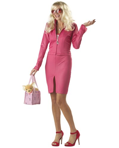 Elle Woods Legally Blonde Party Costume (Pink;Small)