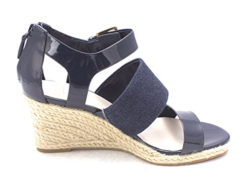 Cole Haan Womens Eletasam Open Toe Casual Espadrille Sandals Dark Blue b92wYZvo