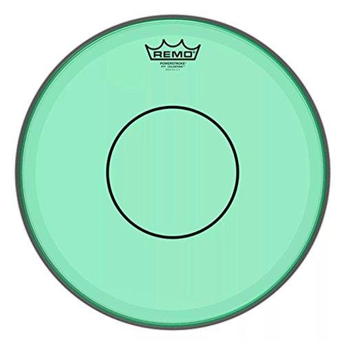 Remo Powerstroke 77 Colortone Green Drumhead, 14