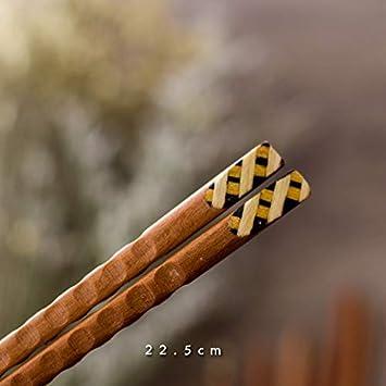 Cuberterías Combinadas Palillos Japoneses De Madera Palillos ...