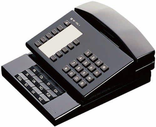 arlac® Telefonregister index/127.01 230x190x35mm schwarz Kunststoff