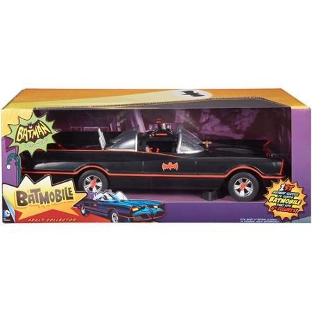 (Batman 66 Classic Barris Design Batmobile Mattel 1:18 Scale)