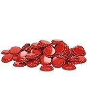 Corona Base de corcho 29mm rojo–Trinkbecher–100Unidades