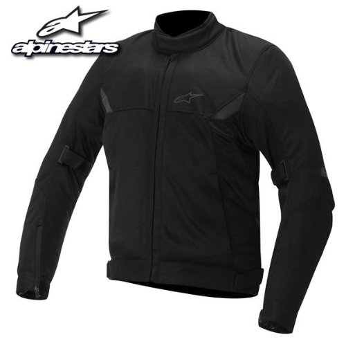 Alpinestars Quasar Men's Textile Jacket (Black, Large) (Alpinestars Armor Jacket)