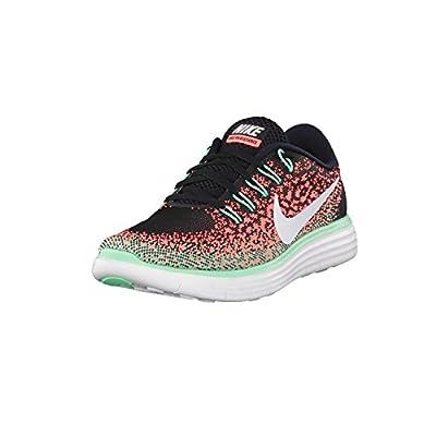 Nike Womens Free Rn Distance Running Shoe (7 B(M) US, Black/White-Bright Mango-Green Glow)