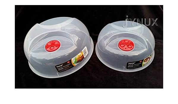 jynux® cubreplatos para microondas plato plástico cubierta 25 cm ...