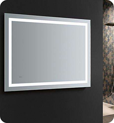 Fresca Santo 48 inch Wide x 36 inch Tall Bathroom Mirror w/LED -