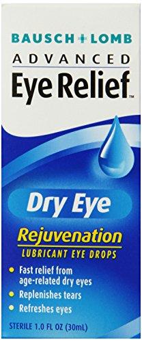 Bausch & Lomb Advanced Eye Relief Rejuvenation Lubricant Eye Drops, 1-Ounce