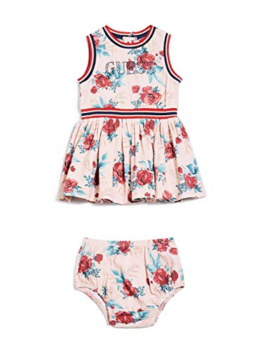 Guess Baby Clothes - GUESS Factory Kids Girl's Amira Skater Dress (0-24M)