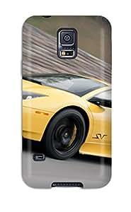 For Galaxy S5 Premium Tpu Case Cover Lamborghini Murcielago Protective Case