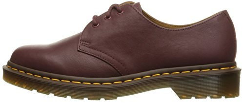 Womens 1461 Dr Shoes Eyelet martens 3 Virginia Leather Red 15nzRq