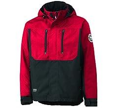 Helly Hansen 34-076201 Workwear Funktionsjacke//Berg Jacket Winterjacke,grau//schwarz,3XL