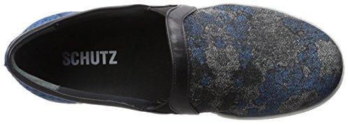 Sneaker Slip-on Da Donna Schutz Blu