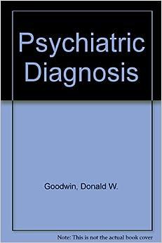 Psychiatric Diagnosis
