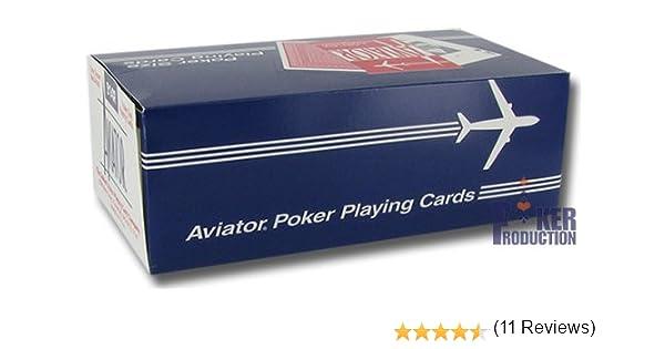 Caja de 12 barajas AVIATOR (US playing cards company): Amazon.es ...