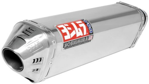 - Yoshimura TRC Polished Stainless Steel Dual Tri-Oval Slip On Exhaust System - Yamaha YZF-R1 2007-2008