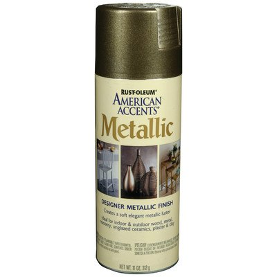 11 Oz Aged Bronze Designer Metallic Paint Kit [Set of 6] by AmericanAccents