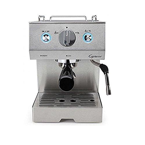 Capresso 125.05 Cafe Pro Espresso Maker, Silver (Renewed)