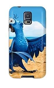New Premium Flip Case Cover Blu In Rio Skin Case For Galaxy S5