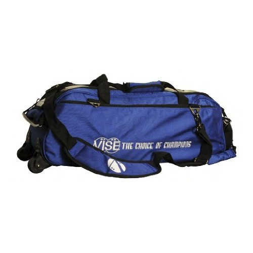 Vise Three Ball Tote Roller Bowling Bag, Blue by Vise