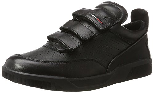 Tommy Hilfiger T2385yke 4a, Zapatillas para Hombre Negro (Black 990)