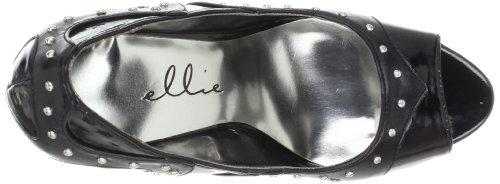 Polyurethane Negro Para Ellie Leelo ShoesLeelo mujer Black 40YzUR