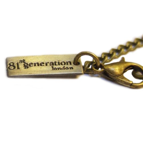 81stgeneration Women's Brass Vintage Style Owl Pocket Watch Chain Pendant Necklace, 78 cm by 81stgeneration (Image #1)