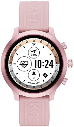 Michael Kors Access Gen 4 MKGO Smartwatch- Lightweight Touchscreen Powered with Wear OS by Google with Heart Rate, GPS, NFC, and Smartphone Notifications 41I5DjatfmL