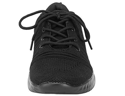Deportivas Zapatillas Mujeres Zapatos Negro Las Respirable Casuales qzawZpg8