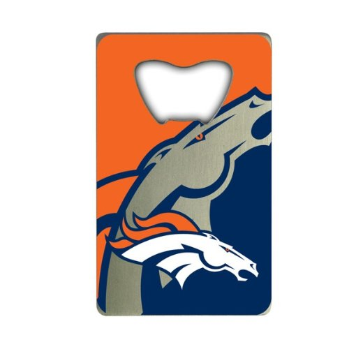 NFL Denver Broncos Credit Card Style Bottle ()