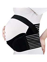 Hisret Maternity Belly Support Belt Pregnancy Waist Back Abdomen Band Adjustable