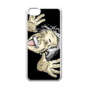 iPhone 5c Cell Phone Case White Einstein Gjdp
