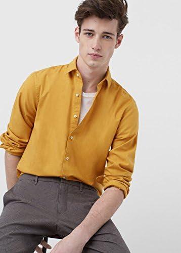 MANGO MAN - Camisa casual - para hombre Okker XL: Amazon.es ...
