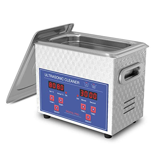 Ultrasonic Cleaner for Jewelry Glasses Necklaces and Dentures 600ml Home Use JAKAN